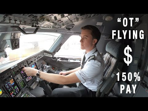 How Airline Pilots Can Make 150% Pay On Days Off