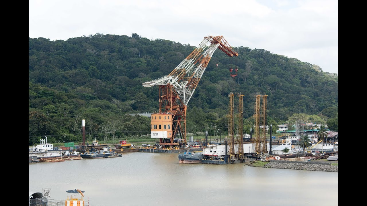 Panama Canal Gatun Lake to The Culebra Cut