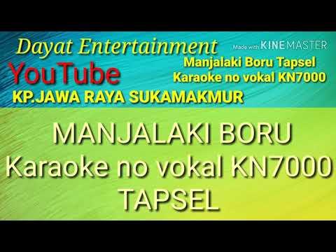 Manjalaki Boru Tapsel Karaoke KN7000