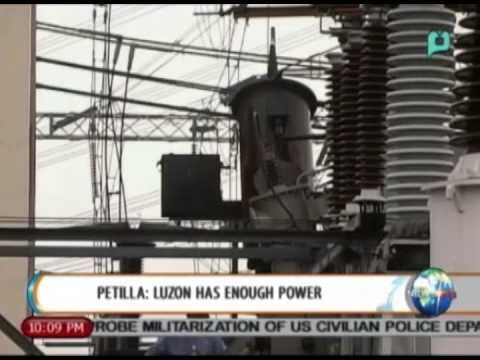 [NewsLife] Petilla: Luzon has enough power supply    Sept. 10, 2014
