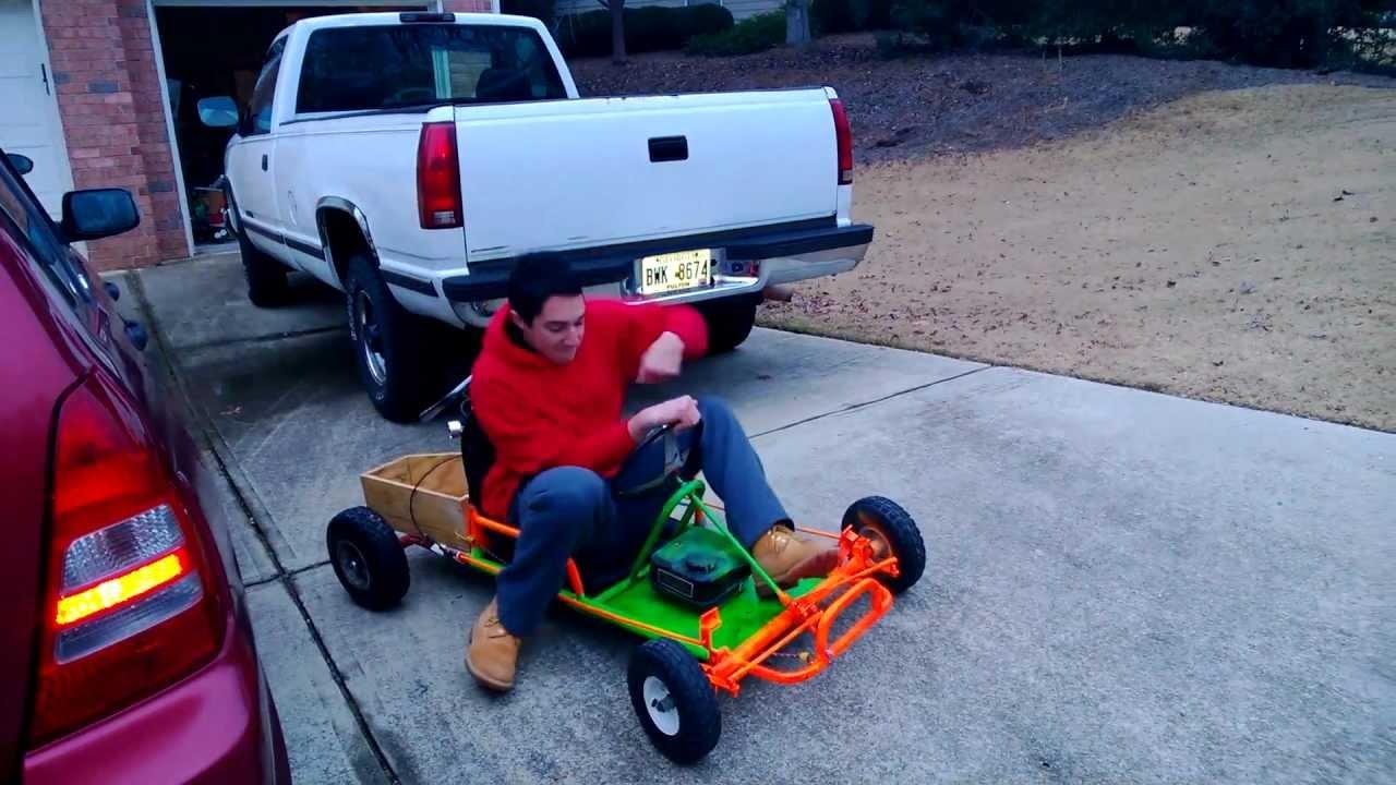 Predator 212 on Go Kart