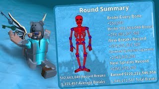 I BROKE OVER 500 MILLION BONES!! | Broken Bones 4 | Roblox