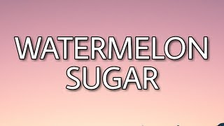 Gambar cover Harry Styles - Watermelon Sugar (Lyrics)
