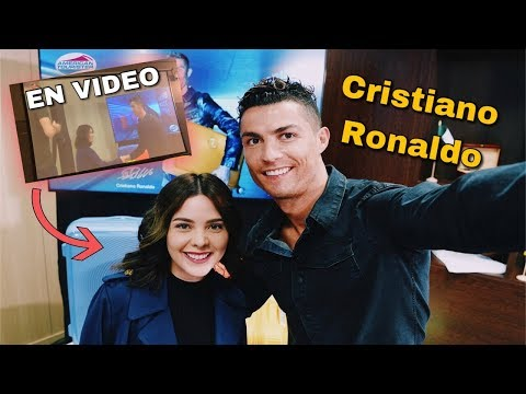 El día que conocí a CRISTIANO RONALDO - Sheryl Rubio