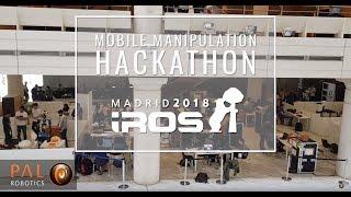 Mobile Manipulation Hackathon @ IROS 2018