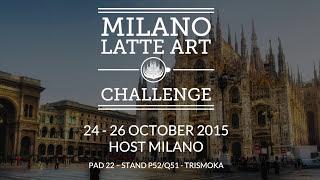 Marius Nica presentation  Milano Latte art