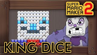 Super Mario Maker 2 - Cuphead King Dice Boss Level