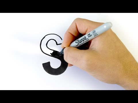How To DRAW The A-to-Z Of The Sans-Serif Alphabet!