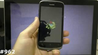сброс настроек Huawei U8815 (Hard Reset Huawei U8815 Ascend G300)