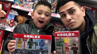 Toy Hunting: Looking for imaginext power rangers and Roblox figures