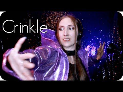 ASMR Crinkle Hour 💫  Deep Crinkly Rain Coat, Shower Cap, Foil Pom Poms, Plastic, Paper + ✨ Tingles