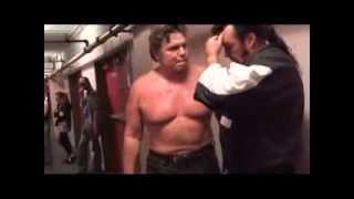 WWE LEGENDS LOCKER ROOM FIGHT!!! thumbnail