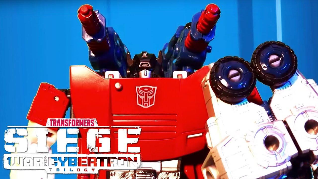 SIEGE Unlocked - UV Codes Autobots vs Decepticons Official Stop Motion Videos