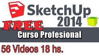 Tutorial español de Sketchup 2014  - 29 Armaremos una escalera en espiral