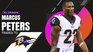 Los Angeles Rams Trade Marcus Peters to Baltimore Ravens for Kenny Young!