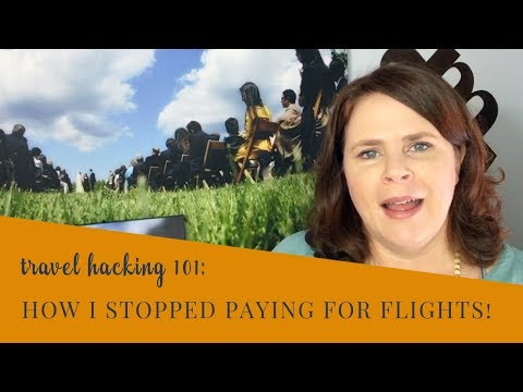 Travel Hacking Basics: how to get cheap plane tickets and travel cheap using credit cards