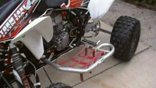 Race ready honda 450r