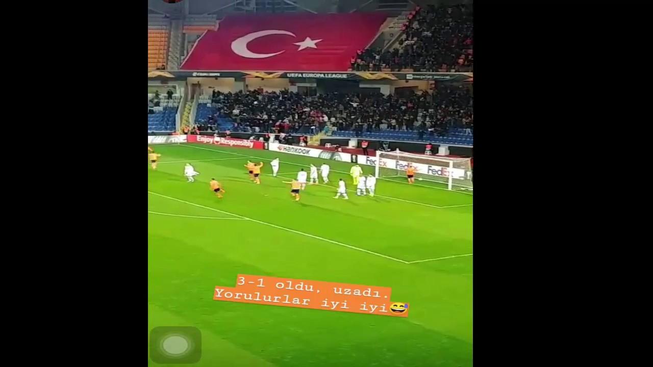 BASAKSEHIR-S.LİZBON UEFA AVRUPA LİGİ SON 32 EDİN VİSCA ...
