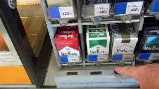 Cigarette Security in Japan!