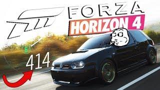 Zagrajmy w FORZA HORIZON 4 PL #18 - PONAD 400 KM/H 1000 KONNY GOLFEM IV