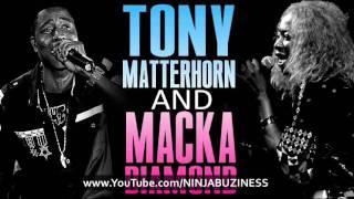 Tony Matterhorn & Macka Diamond - Fantasy (Brain Storm Riddim)