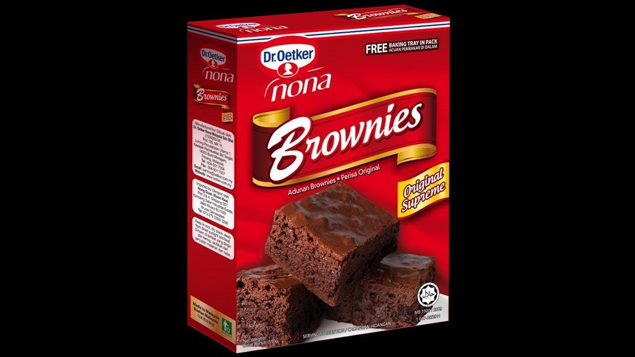 Resepi Kek Brownies Readymade