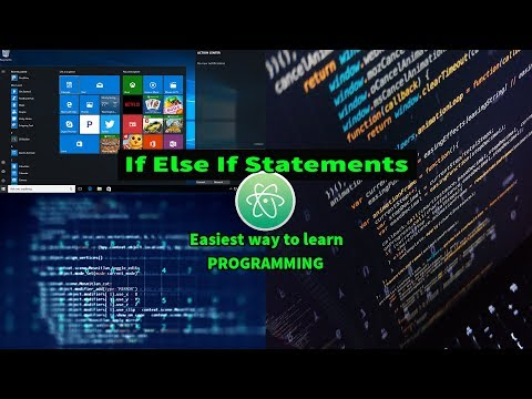 If Else If Statements In C  Easiest Way To Use If Else If With Atom Editor In Windows 10 #23 thumbnail