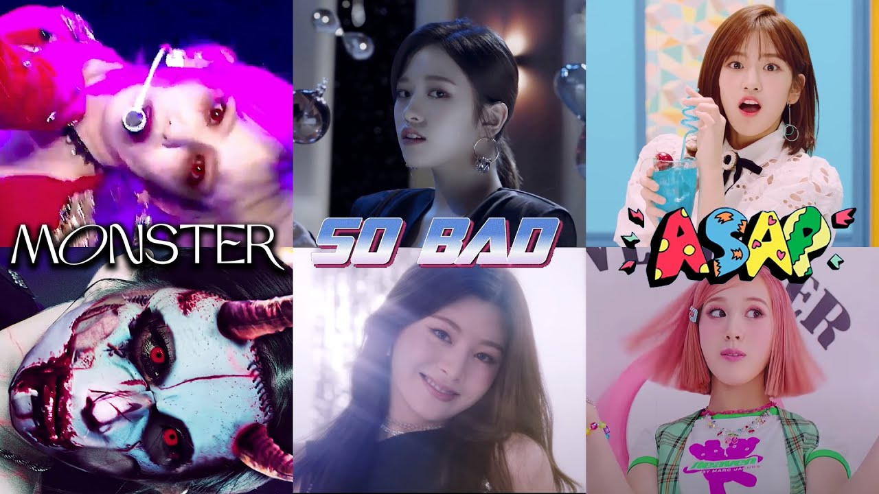 izone teasers if they came back with different songs