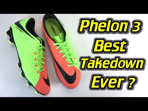 Nike Hypervenom Phelon 3 (Radiation Flare Pack) - One Take Review + On Feet