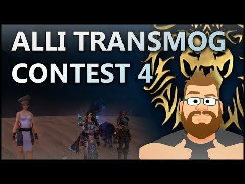 Transmog Wettbewerb 04 - Allianz [24h Stream Mitschnitt v. 29.12.2017]