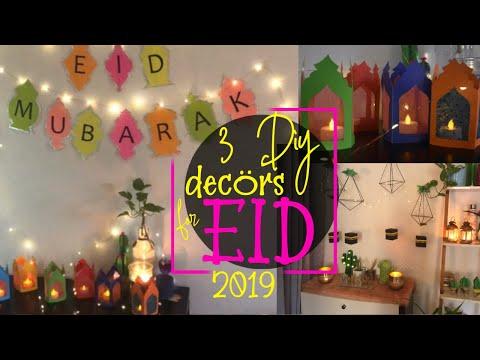 EID DIY | Home Decor | DIY EID Banner & hangings | Suboohi Khan