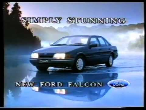 """Ford Falcon EA """"Driving on water"""" - Launch TV Commercial"""