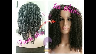 Kinky Curly Wigs | Half & Full | My Natural Hair Extensions