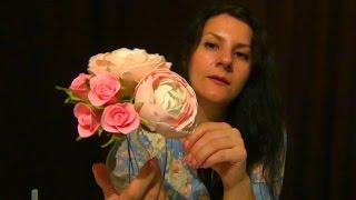 АСМР/ ASMR/ ЦВЕТЫ ИЗ ФОАМИРАНА // МАСТЕР КЛАСС// ТИХАЯ РЕЧЬ(В этом АСМР видео покажу как делают цветы из фоамирана. Видео получилось длинное, кое где я сокращала его...., 2016-09-27T08:40:10.000Z)