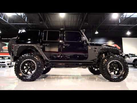 2015 Jeep Wrangler Black with custom accessories