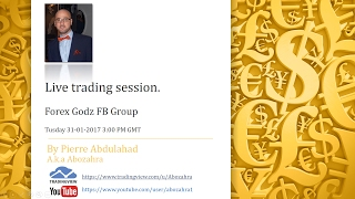 Live Trading Session Forex Godz FB Group 31-01-2017