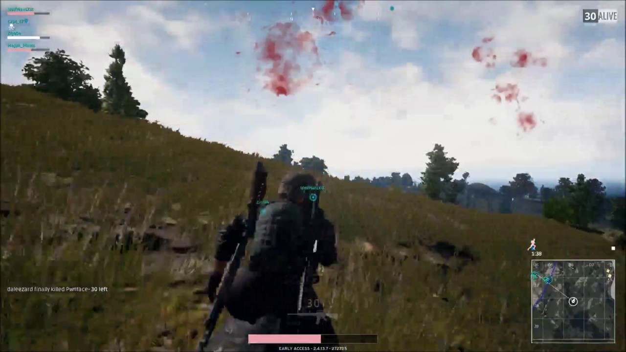 Cannot turn camera vertically - Archive - PLAYERUNKNOWN'S