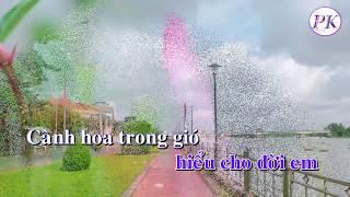 Karaoke Đừng Nhắc Chuyện Lòng - Tone Nam - Quốc Dân Karaoke