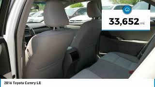 2016 Toyota Camry LE Maplewood, St Paul, Minneapolis, Brooklyn Park, MN P18208