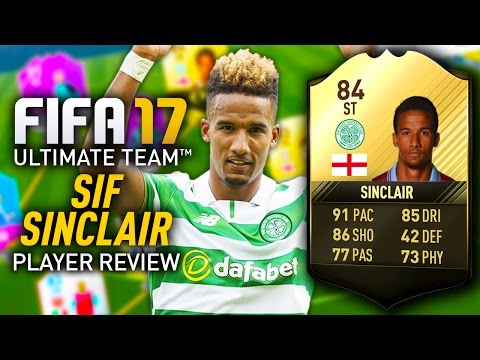 FIFA 17 SIF SINCLAIR (84) *STRIKER* PLAYER REVIEW! FIFA 17 ULTIMATE TEAM!