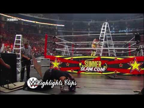 CM Punk vs Jeff Hardy Summerslam 2009 Highlights
