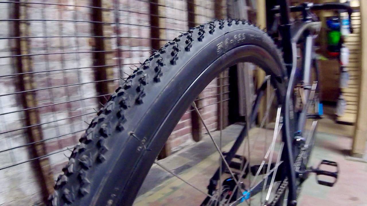 Cyclocross Tires On An Adventure Bike
