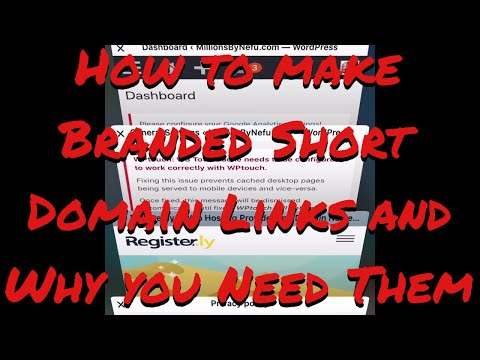 How to make Branded Short Domain Links and Why you Need Them