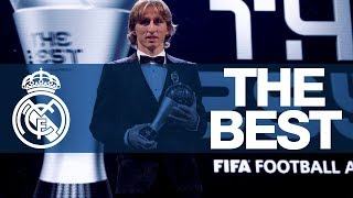 LUKA MODRIC named The Best FIFA Men's Player 2018