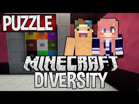 Puzzle | Diversity Minecraft Adventure Map | Ep. 9