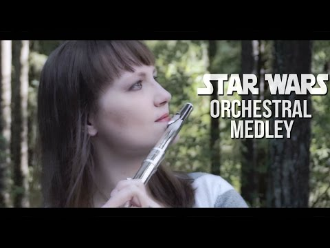Star Wars The Force Awakens Epic Soundtrack Theme (Instrumental Medley) Flute Cover