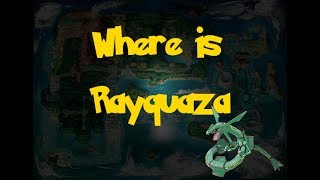 Where Is: Rayquaza (Pokemon Alpha Sapphire/Omega Ruby)