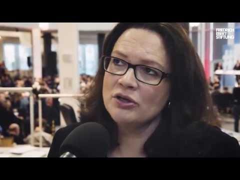 Interview mit Andrea Nahles auf der #DigiKon15