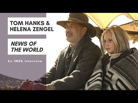 Tom Hanks and Helena Zengel Bond Behind the Scenes of 'News of the World'