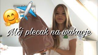 Pakuje plecak na wakacje!❤️🎒